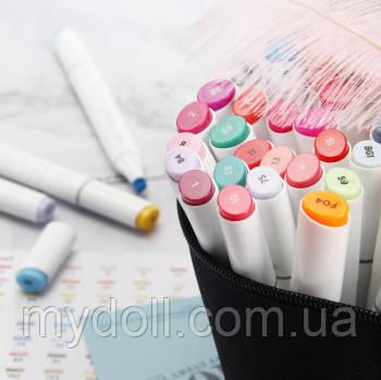 Набір скетч маркери для малювання 120 штук, США - Ohuhu 120 Colors Dual Tips Alcohol Art Markers Fine & Chisel