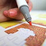 Набор скетч маркеры для рисования 120 штук, США - Ohuhu 120 Colors Dual Tips Alcohol Art Markers Fine & Chisel, фото 4