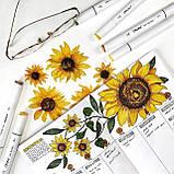Набор скетч маркеры для рисования 120 штук, США - Ohuhu 120 Colors Dual Tips Alcohol Art Markers Fine & Chisel, фото 7