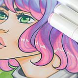 Набір скетч маркери для малювання 120 штук, США - Ohuhu 120 Colors Dual Tips Alcohol Art Markers Fine & Chisel, фото 9