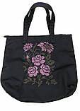 Текстильна сумка з вишивкою Шопер 27, фото 2