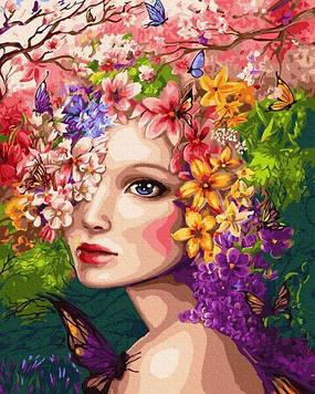 Картини за номерами 40х50 см Brushme Весняна німфа (GX 30915)