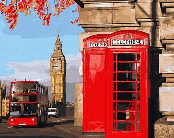 Картини за номерами 40х50 см Brushme Лондонський куточок (GX 32849)
