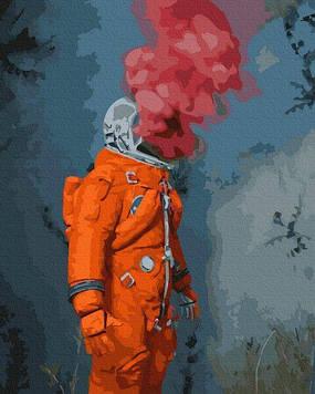Картины по номерам 40х50 см Brushme  Космический герой (GX 35330)