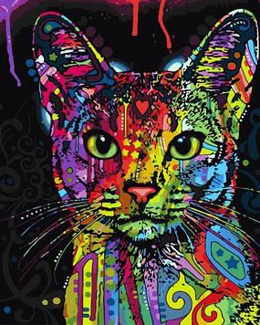 Картини за номерами 40х50 см Brushme Абіссінська кішка (GX 9868)