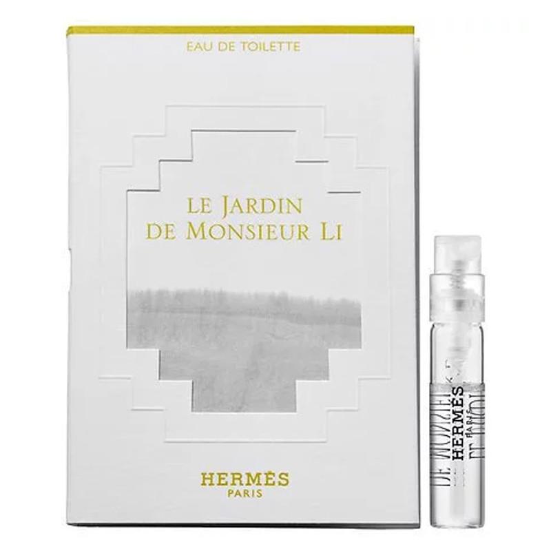 Hermes Le Jardin De Monsieur Li Туалетная вода (пробник) 2ml