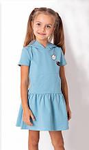 Літнє плаття для дівчинки, з капюшоном Mevis блакитне р. 92, 98, 104, 110, 116