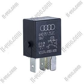 Реле V23374-A1001-X010, 4H0951253C, 12VDC, SPDT 20-30A