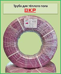 Труба для теплого пола KP PEХ-В 16х2 с кислородным барьером (pink)