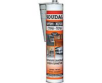 Клей-герметик SOUDAL PU Sealant 300 мл, серый