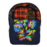 Рюкзак с вышивкой Бабочки, фото 3