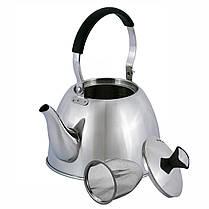 Чайник Kamille з нержавіючої сталі 1 л (1093), фото 3