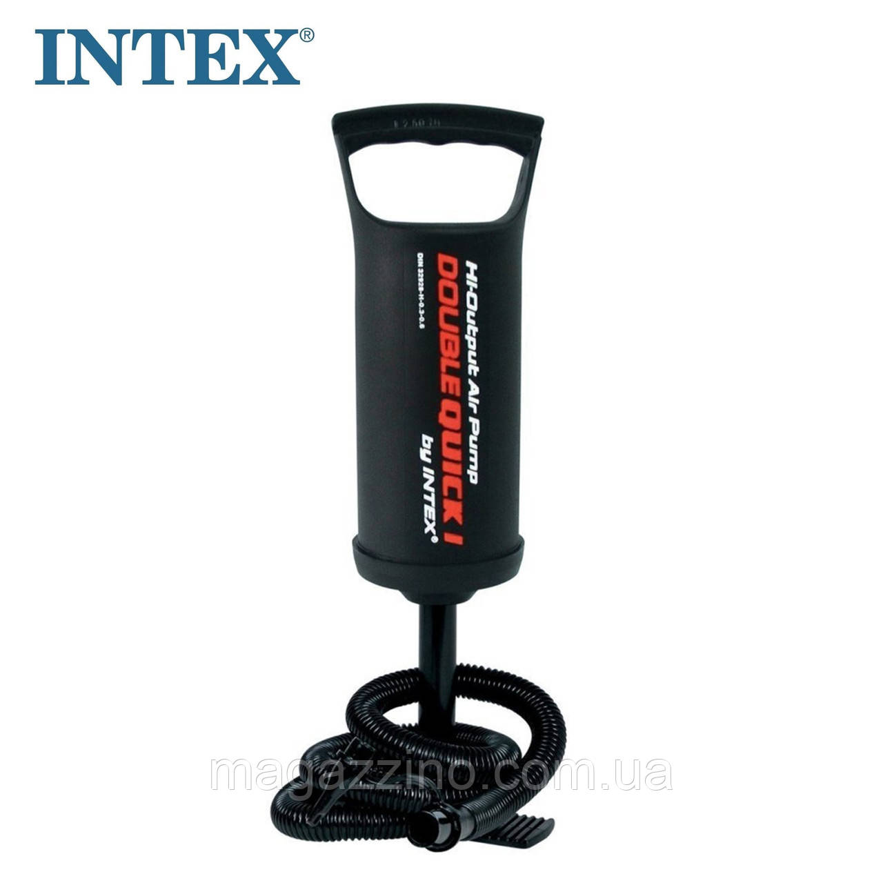 Ручной насос для надувания Intex, 0,9л.