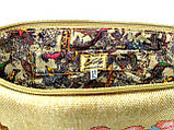 Текстильна сумка з вишивкою Сакура, фото 3