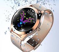 Смарт часы женские Smart VIP Lady Gold Часы смарт UWatch Фитнес браслет женский