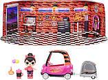 ЛОЛ Перчинка с автомобилем Игровой набор с куклой L.O.L. Surprise Auto Shop Spice Doll Furniture LOL 572619, фото 4
