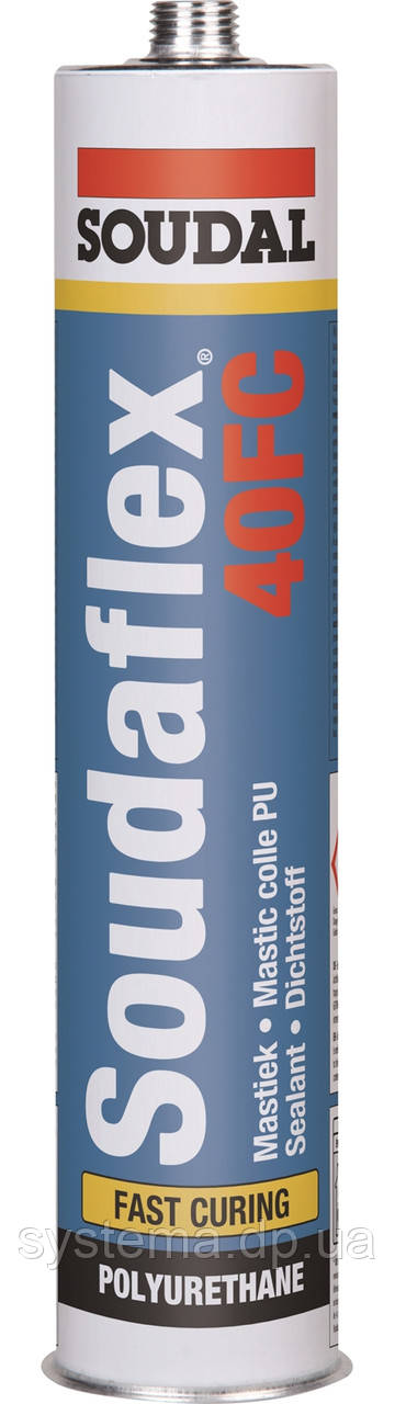 Клей-герметик SOUDAFLEX 40 FC, 300 мл, сірий