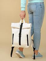 Рюкзак Roll унісекс 43(54)*31*14 см білий