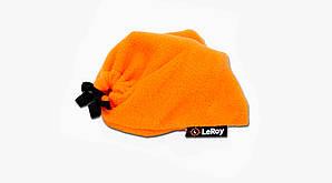 Флисовый чехол-мешок для катушки LeRoy Оранжевый M 20*20см
