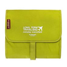 Органайзер аксессуаров Traveler Campbells Multi Pocket 23,5х21,5х3 смЗеленый 23371, КОД: 1388652