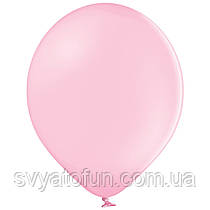 """Латексные шарики 10,5"""" пастель В85/004 розовый светлый 50шт/уп BelBal"""