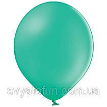 """Латексные шарики 10,5"""" пастель В85/005 зеленый 50шт/уп BelBal"""