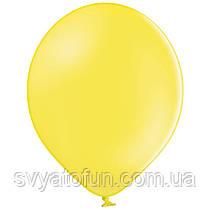 """Латексные шарики 10,5"""" пастель В85/006 желтый 50шт/уп BelBal"""