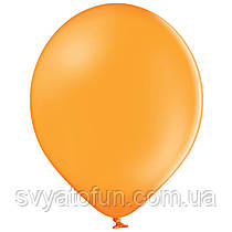 """Латексные шарики 10,5"""" пастель В85/007 оранжевый 50шт/уп BelBal"""