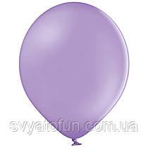 """Латексные шарики 10,5"""" пастель В85/009 лавандовый 50шт/уп BelBal"""