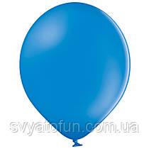"""Латексные шарики 10,5"""" пастель В85/012 синий 50шт/уп BelBal"""