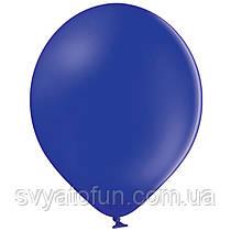 """Латексные шарики 10,5"""" пастель В85/105 темно-синий 50шт/уп BelBal"""