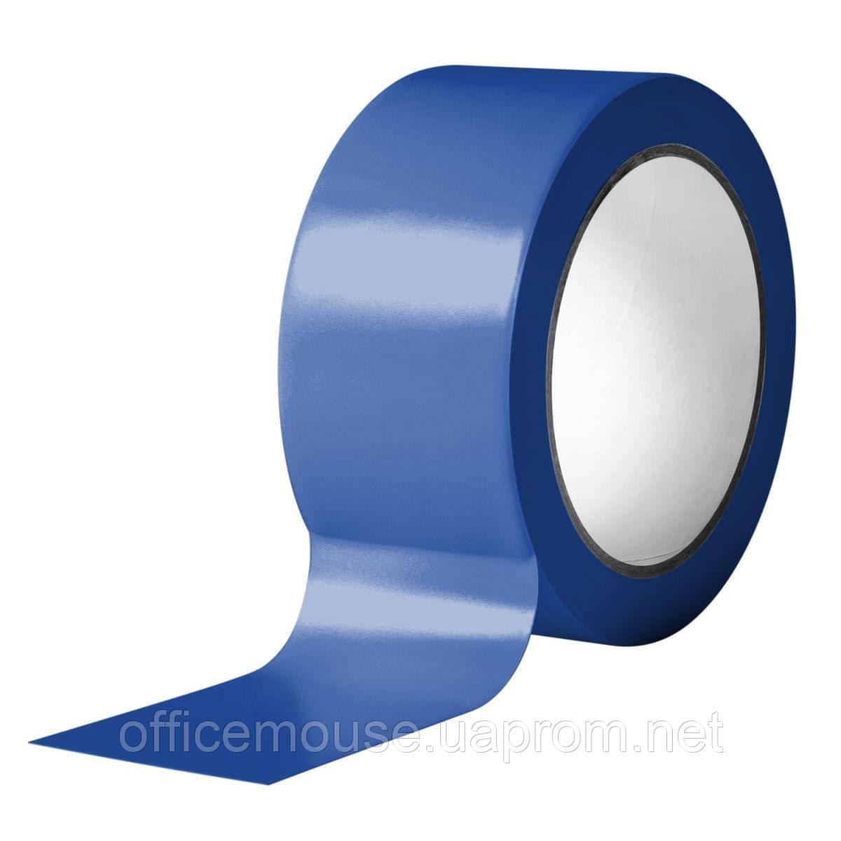 Клейка стрічка пакувальна 48 мм х 50 м х 40 мкм, синя