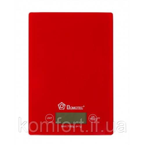 Электронные кухонные весы 7кг Domotec MS-1912 (912)