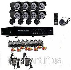 Набір відеоспостереження CCTV (8 камер) 2MP, фото 3