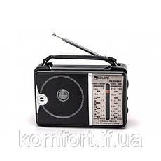 Всехвильовий радіоприймач Golon RX-606ACW, AM/FM/TV/SW1-2, 5-ти хвильовий, фото 3