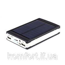 Power Bank 20000 mAh на солнечных батареях + Solar + Led панели, фото 3