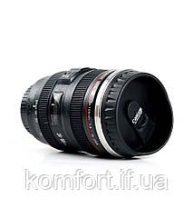 Термокружка в виде объектива Canon 24-105L, фото 3