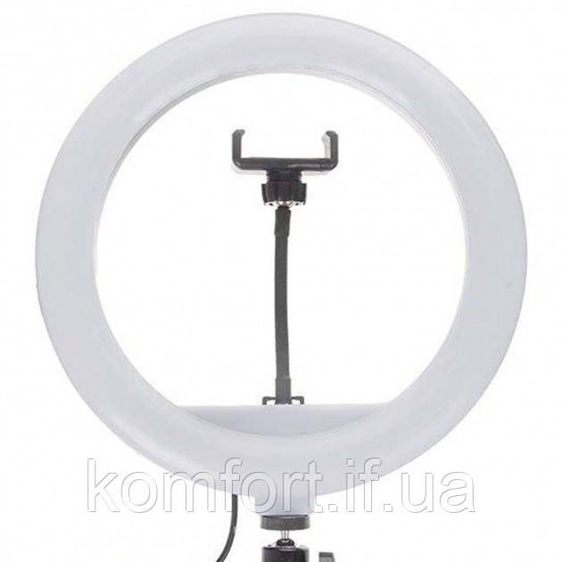 Кольцевая LED лампа JY-300 диаметр 30см, usb,  управление на проводе (471-500)