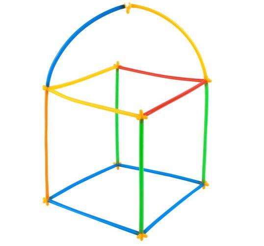Пластикові 4D солом'яні блоки DIY 408 елементів