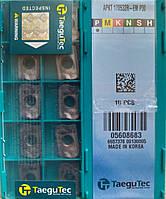 Пластина APKT 170532R-EM P30 TaeguTec пластина твердосплавная врезная