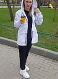 Жіноча вітровка подовжена з капюшоном 42-44, 46-48 різні кольори, фото 3