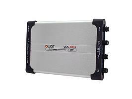Цифровий осцилограф (PC USB, 4х75МГц, 8 біт) OWON VDS6074