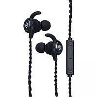 Бездротова стерео блютуз гарнітура Remax RB-S10 чорний, bluetooth 4.1, USB, опір 16 Ом, блютуз гарнітура Remax