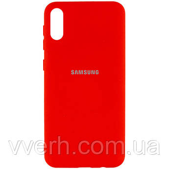 Уценка Чехол Silicone Cover My Color Full Protective (A) для Samsung Galaxy A02