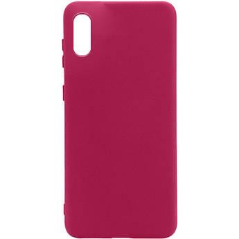 Уценка Чехол Silicone Cover Full without Logo (A) для Samsung Galaxy A02