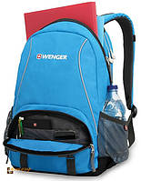 Рюкзак Wenger школьный (подростковый) цвет серый/голубой (22 л), фото 1