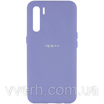 Чохол Silicone Cover My Color Full Protective (A) для Oppo A91 Бузковий / Dasheen