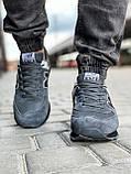 Кросівки чоловічі 18037, New Balance 574, темно-сірі, [ 41 42 43 44 45 46 ] р. 41-26,5 див., фото 7