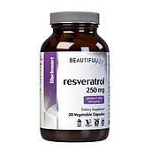 Ресвератрол 250 мг, Beautiful Ally, Bluebonnet Nutrition, 60 растительных капсул