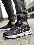 Кросівки чоловічі 18514, Nike Air Monarch, чорні, [ 41 42 43 44 45 46 ] р. 41-26,5 див., фото 2
